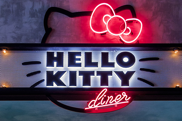 Hello Kitty Diner Sydney